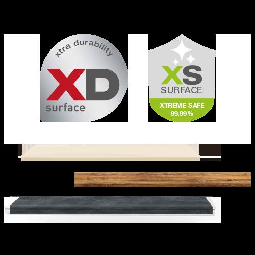 Fensterbank Oberflächen XD und XS