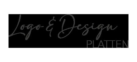 Logo und Design Platten
