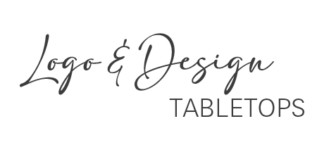 Logo and design tabletops